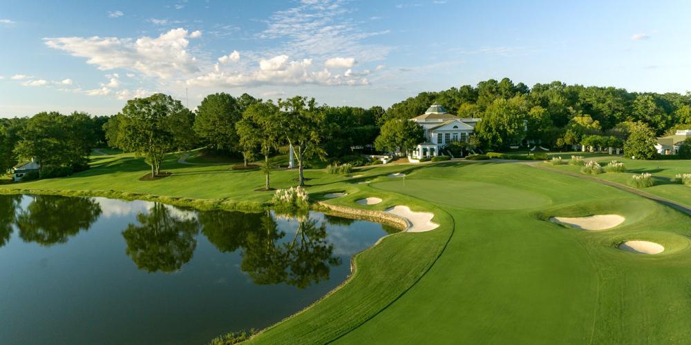 Hole #18 - Old Waverly Golf Club